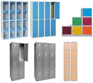 Vestiaires superposés