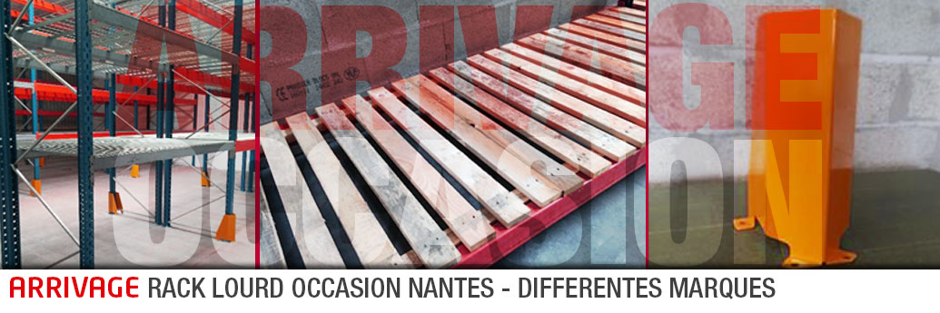 Rayonnage lourd d'occasion – Arrivage SMAI NANTES