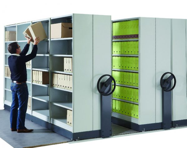 Rayonnage fixe & mobile pour l'archivage-SMAI