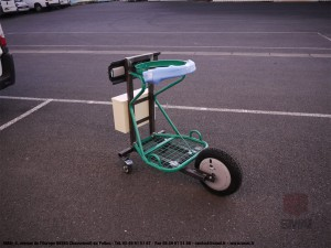 Chariot Support Poubelle SMAI
