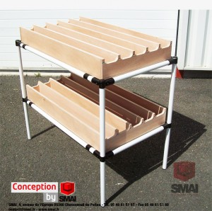 Etagere conception by SMAI